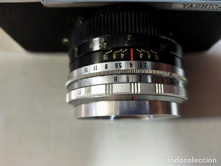 Cámara de fotos: CAMARA DE FOTOS YASHICA MD JAPAN, NUMERADA, CON FUNDA DE CUERO NEGRO ORIGINAL - Foto 16 - 194884612