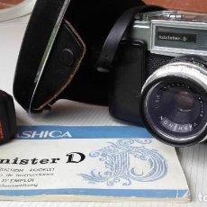 Cámara de fotos: CAMARA DE FOTOS ANTIGUA YASHICA MINISTER-D. Lote 195200340