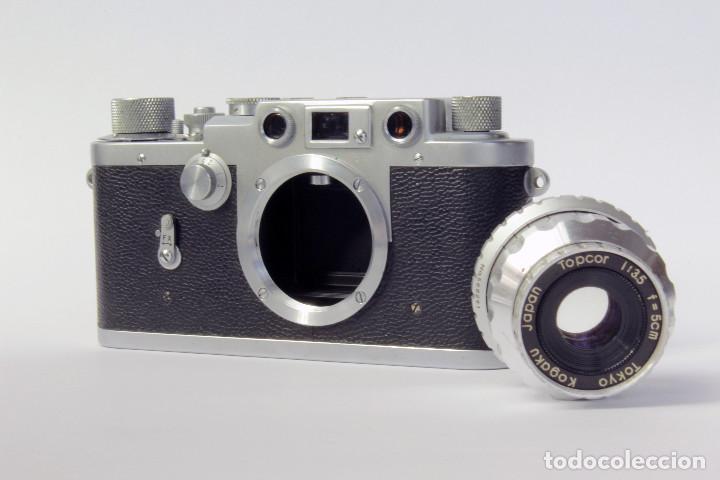 Cámara de fotos: Telemétrica Showa Kogaku Leotax- F. 1954. Japón. Leica copia. - Foto 7 - 195203066
