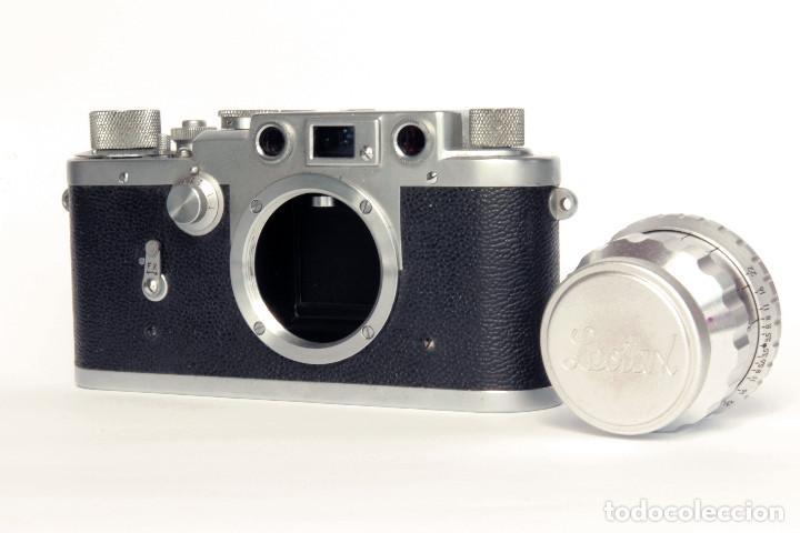 Cámara de fotos: Telemétrica Showa Kogaku Leotax- F. 1954. Japón. Leica copia. - Foto 8 - 195203066