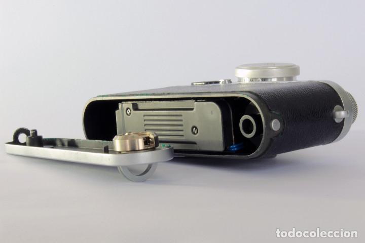 Cámara de fotos: Telemétrica Showa Kogaku Leotax- F. 1954. Japón. Leica copia. - Foto 10 - 195203066
