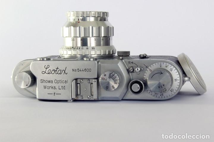 Cámara de fotos: Telemétrica Showa Kogaku Leotax- F. 1954. Japón. Leica copia. - Foto 11 - 195203066