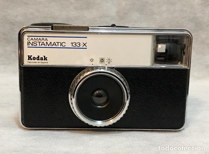 CÁMARA KODAK INSTAMATIC 133-X ANTIGUA (Cámaras Fotográficas - Clásicas (no réflex))
