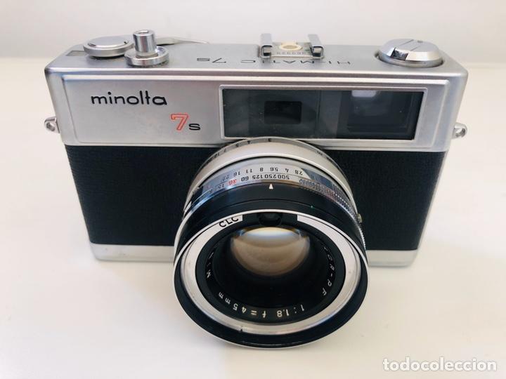 Cámara de fotos: Minolta Hi-Matic 7s - Foto 2 - 195263607