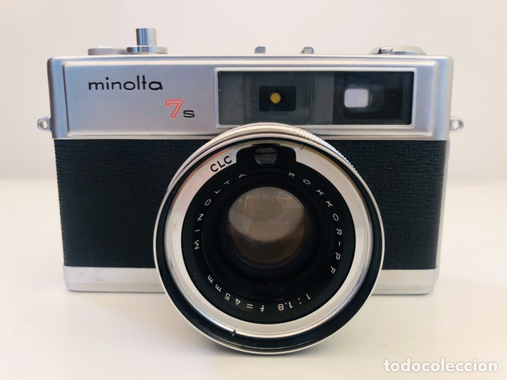 MINOLTA HI-MATIC 7S (Cámaras Fotográficas - Clásicas (no réflex))