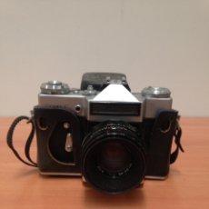 Cámara de fotos: ZENIT-E CÁMARA ANTIGUA DE FOTOS. Lote 195334813