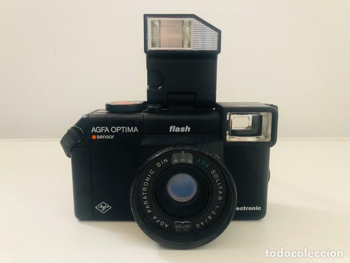 AGFA OPTIMA SENSOR FLASH (Cámaras Fotográficas - Clásicas (no réflex))