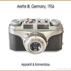 Cámara de fotos: ARETTE 1B, DISTINGUIDA CAMARA ALEMANA DE 1956. EN EXCELENTE ESTADO DE CONSERVACION.. Lote 195521080