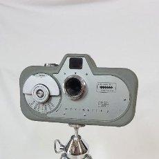 Cámara de fotos: ZEISS IKON MOVINETTE 8 CON TRÍPODE. AÑO 1952. Lote 195787687