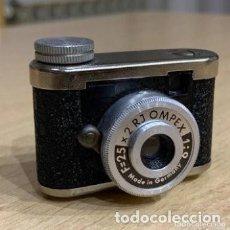 Cámara de fotos: RJOMPEX MINI CÁMARA ALEMANA. Lote 196447748