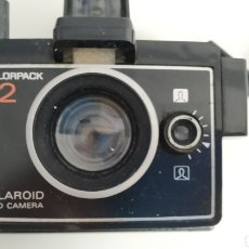 Cámara de fotos: LAND CAMARA POLAROID COLORPACK 82 - NO PROBADA BUEN ESTADO ESTÉTICO. Lote 196876107