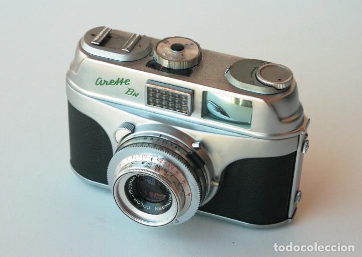 Cámara de fotos: *c1960* • Apparate und Kamerabau AkA ARETTE Bn Color-Isconar f2.8 Prontor-SVS • 35mm, Fotómetro - Foto 4 - 197211627