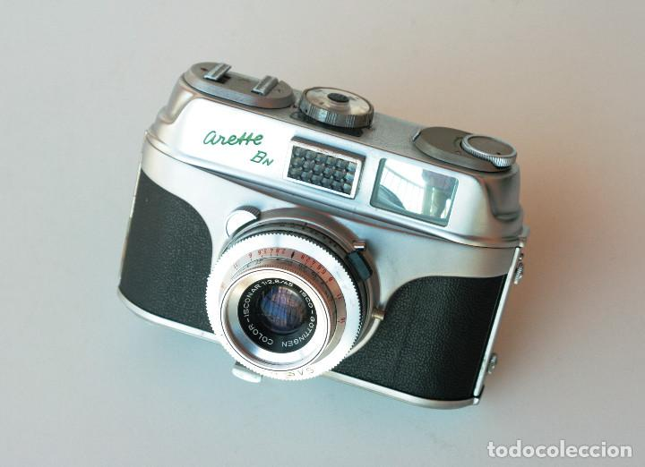 *C1960* • APPARATE UND KAMERABAU AKA ARETTE BN COLOR-ISCONAR F2.8 PRONTOR-SVS • 35MM, FOTÓMETRO (Cámaras Fotográficas - Clásicas (no réflex))