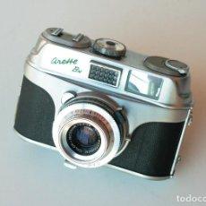 Cámara de fotos: *C1960* • APPARATE UND KAMERABAU AKA ARETTE BN COLOR-ISCONAR F2.8 PRONTOR-SVS • 35MM, FOTÓMETRO. Lote 197211627