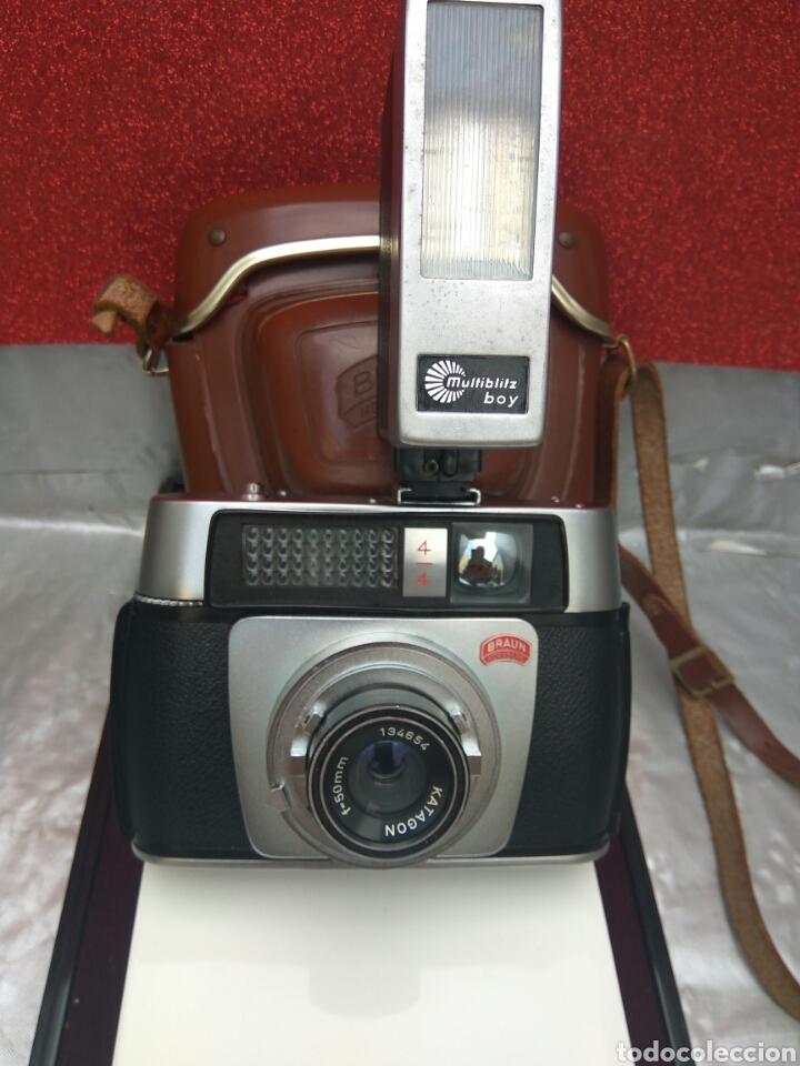 CÁMARA FOTOGRÁFICA BRAUN PANIXA ELECTROMATIC (Cámaras Fotográficas - Clásicas (no réflex))