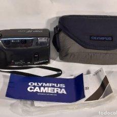Cámara de fotos: CÁMARA FOTOS. OLYMPUS. TRYP AF SUPER. AUTO FOCUS. DX SYSTEM. AÑOS 90.. Lote 197338940