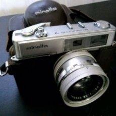 Cámara de fotos: MINOLTA HI?MATIC 7. Lote 197691600
