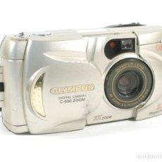 Cámara de fotos: CAMARA OLYMPUS DIGITAL C-990 ZOOM CAMEDIA 2.1 M. Lote 198026706