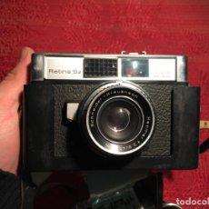 Cámara de fotos: ANTIGUA CAMARA DE FOTOS / FOTOGRAFIAS MARCA KODAK RETINA 5 , 2 AÑOS 60. Lote 199170793