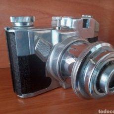 Cámara de fotos: CÁMARA KOROLL FILM 120 BENCINI ALUMINIO. Lote 199837957