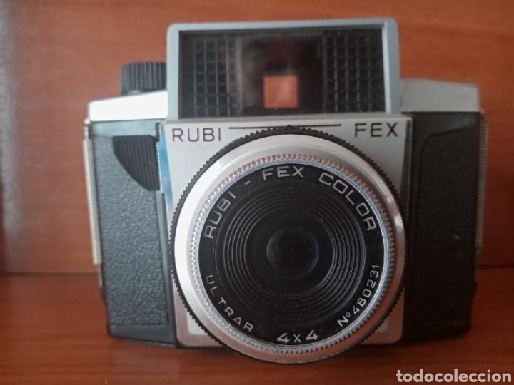 Cámara de fotos: CÁMARA RUBI FLASH FEX MALETÍN E INSTRUCCIONES - Foto 2 - 199844421