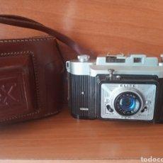 Cámara de fotos: CÁMARA ELITE FEX CON FUNDA. Lote 199847168