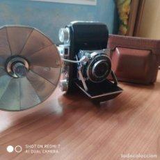 Cámara de fotos: WELTI 1 CON FUNDA Y FLASH IMPECABLE. Lote 200255995