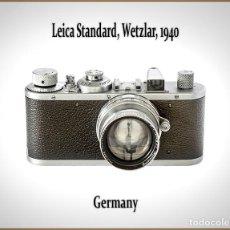 Câmaras de fotos: LEICA STANDARD. CAMARA LEGENDARIA ALEMANA DE 1940. MUY BUEN ESTADO DE CONSERVACION.. Lote 201117983