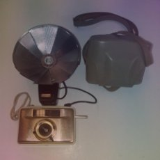 Cámara de fotos: FABULOSA CAMARA WELTA PENTI II GOLD & BEIGE FLASH HUNTER AÑOS 50'S. Lote 201209127
