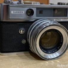 Cámara de fotos: YASHICA LYNX 5000. Lote 202862003