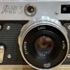Cámara de fotos: FED 3. Lote 203568955