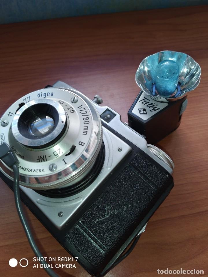 Cámara de fotos: Dacora Digna con flash 1954 - Foto 3 - 204688017