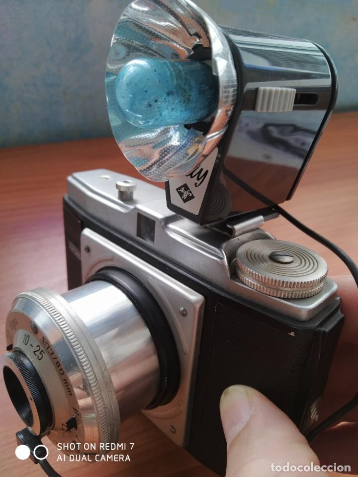 Cámara de fotos: Dacora Digna con flash 1954 - Foto 8 - 204688017