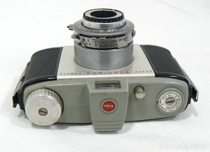 Cámara de fotos: Antigua cámara Fotográfica de colección Kodak Pony 828 - Foto 2 - 206227345