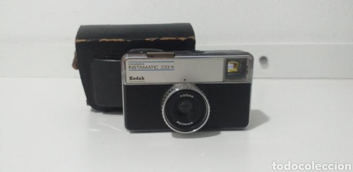 CAMARA FOTOS KODAK INSTAMATIC 233 X (Cámaras Fotográficas - Clásicas (no réflex))
