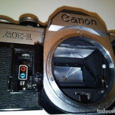 Câmaras de fotos: CAMARA CANON AE 1 DE 1980 CON MOTOR. Lote 207574218