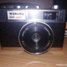 Cámara de fotos: WERLISA CLUB COLOR CON SU FUNDA, FLASH, MANUALES Y CAJA ORIGINAL. Lote 208937740