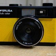 Cámara de fotos: WERLISA CLUB COLOR AMARILLA. Lote 210356725
