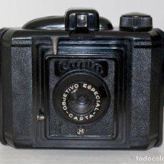 Cámara de fotos: ANTIGUA CÁMARA FOTOGRÁFICA CAPTA OBJETIVO ESPECIAL CON FUNDA ORIGINAL DE CUERO.. Lote 210457228