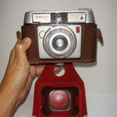 Cámara de fotos: MÁQUINA DE FOTOS WERLISA - COLOR. OBJETIVO LAOTAR ANASTIGMATICO. CON FUNDA. MUY BUEN ESTADO.. Lote 210543995