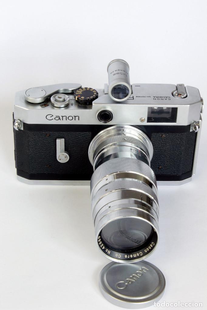 Cámara de fotos: Expectacular CANON P, con Lente SERENAR 135 mm - Foto 2 - 211334644