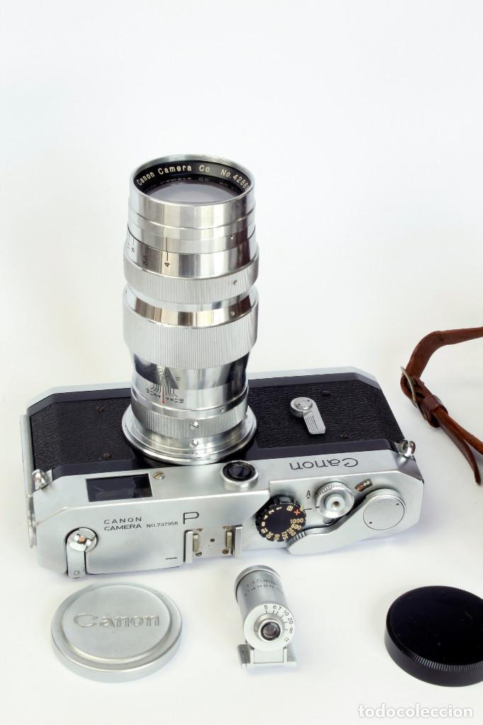 Cámara de fotos: Expectacular CANON P, con Lente SERENAR 135 mm - Foto 5 - 211334644