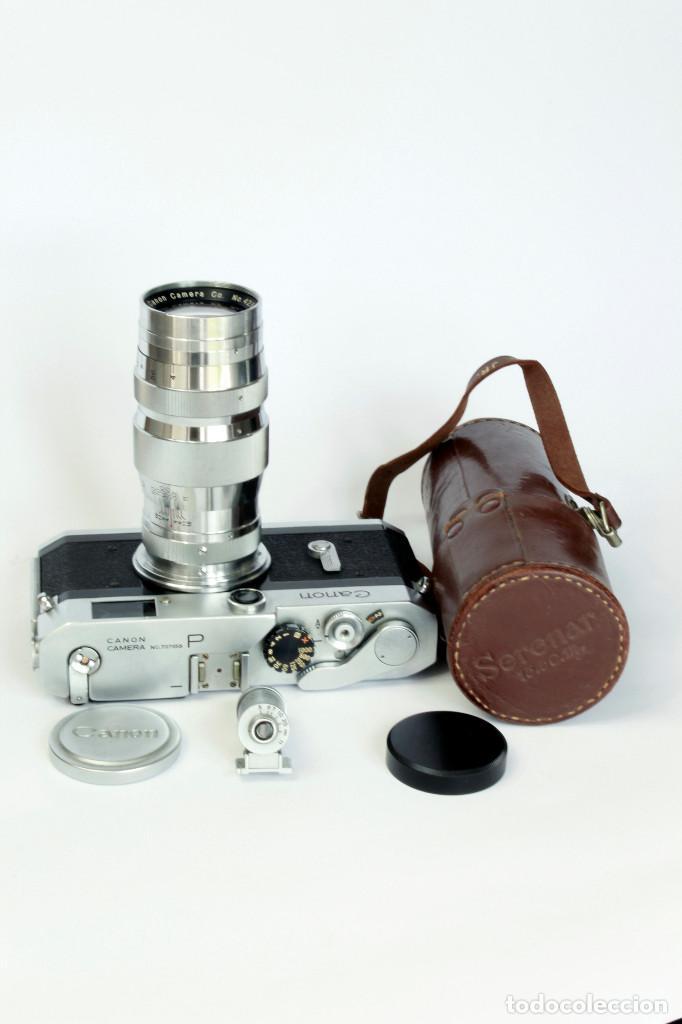 Cámara de fotos: Expectacular CANON P, con Lente SERENAR 135 mm - Foto 7 - 211334644