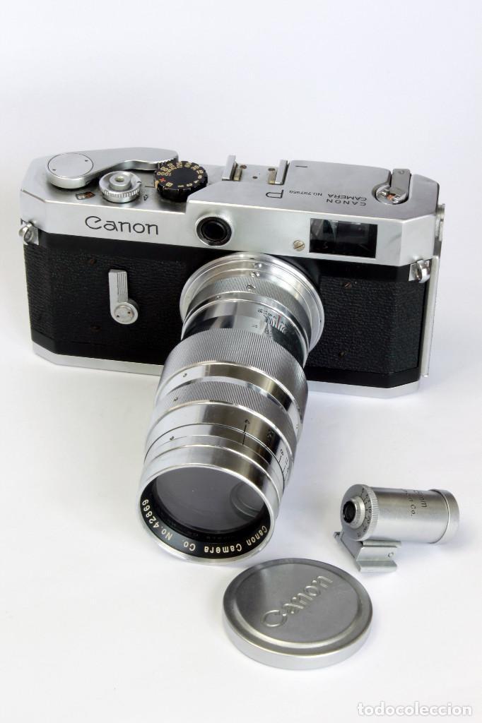 Cámara de fotos: Expectacular CANON P, con Lente SERENAR 135 mm - Foto 11 - 211334644