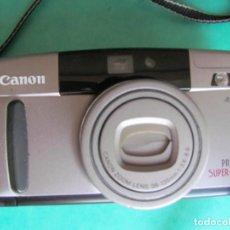 Fotocamere: CAMARA CANON PRIMA SUPER 135. FUNCIONANDO. EN BUEN ESTADO Y CON FUNDA.. Lote 211653584
