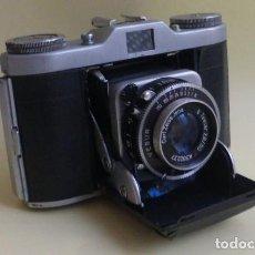 Cámara de fotos: CAMARA DE FUELLE, BELTICA..CARL ZEISS JENA....DECADA DE LOS 50/60...VER FOTOS..DESCRIPCION.. Lote 211933998