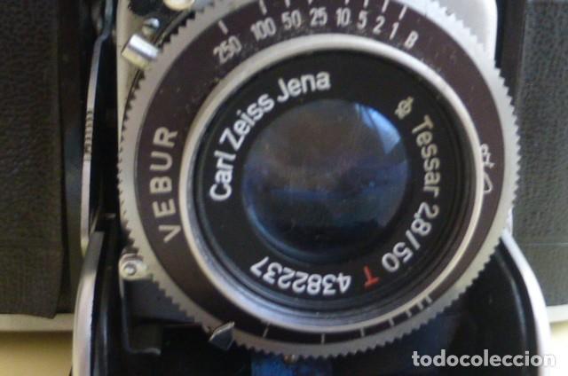 Cámara de fotos: Camara de fuelle, Beltica..Carl Zeiss Jena....Decada de los 50/60...Ver fotos..Descripcion. - Foto 3 - 211933998