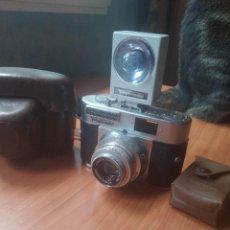 Cámara de fotos: VOIGT LANDER VITO BL CON FLASH Y FUNDA. Lote 215056197