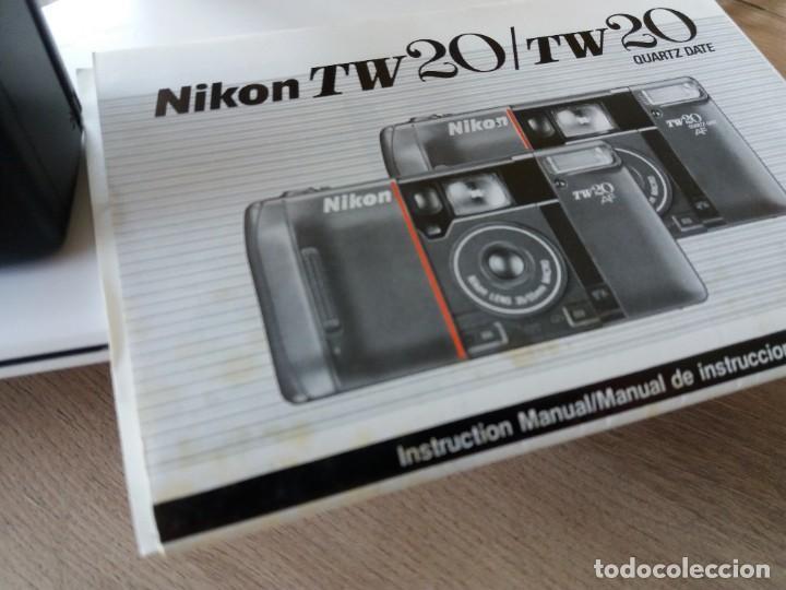 Cámara de fotos: NIKON TW20 AF FUNDA, CAJA ORIGINAL E INSTRUCCIONES - Foto 3 - 215737053