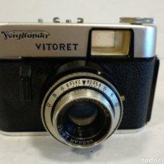 Cámara de fotos: 35 MM.VOIGTLANDER VITORET.1962.FUNCIONA. Lote 217051213